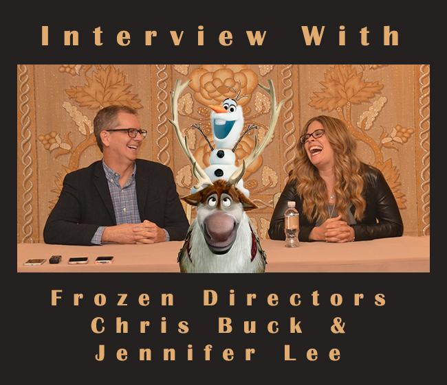 Interview With #FrozenFever Directors Chris Buck & Jennifer Lee http://t.co/MEULkPeePX #CinderellaEvent http://t.co/kwWKaZqoI0