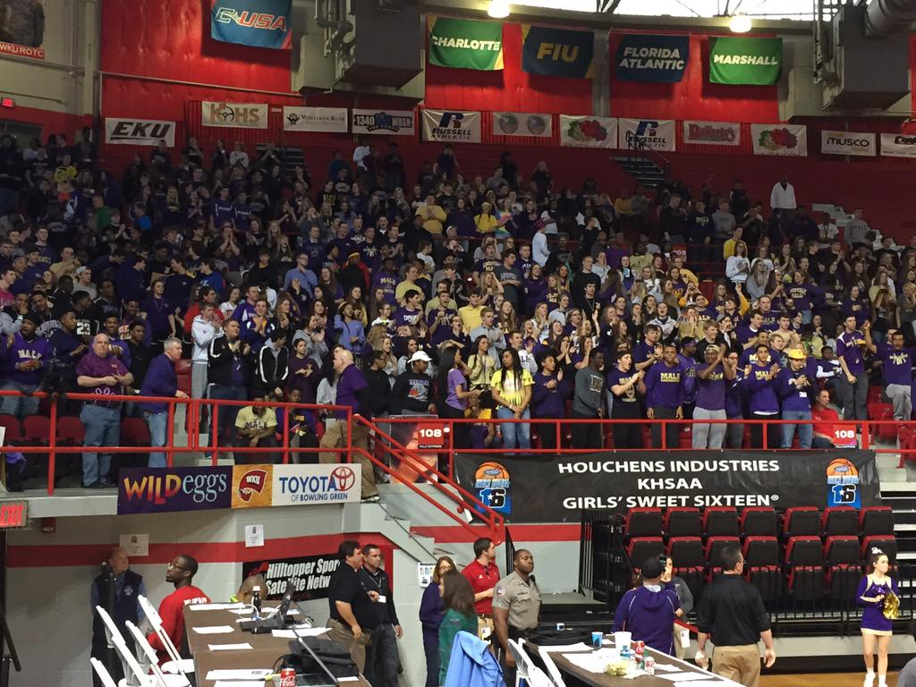 Just part of the Male student section. http://t.co/BXn5TfdVVZ