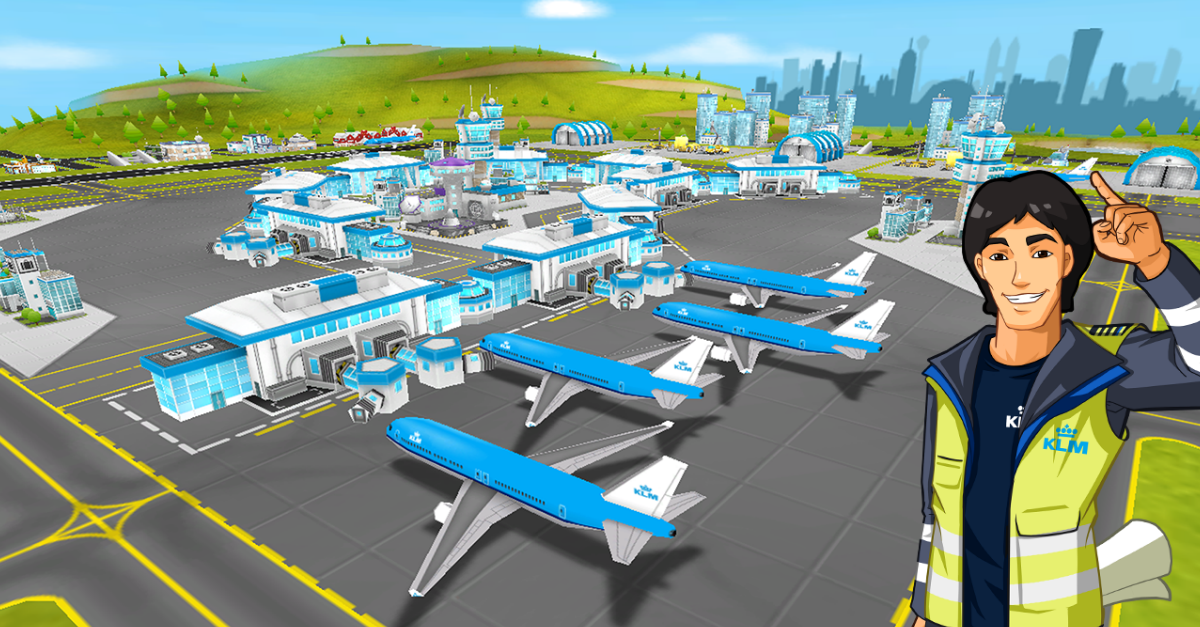 Think you can rule the sky? Download KLM's Aviation Empire, the first 3D airline game for iOS: