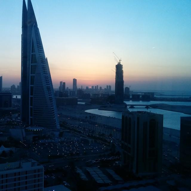 #sunset #dusk #world_trade_center #Manama #Bahrain https://t.co/xI80TuSeXE http://t.co/Ee3X9A0LkH