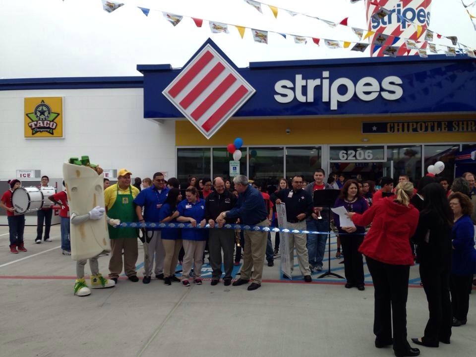 So fun to see @GCCISD Baytown Jr. Band play at grand opening of @stripesstores @CityofBaytown (Credit: BJS FB page) http://t.co/HyVUluWxZl