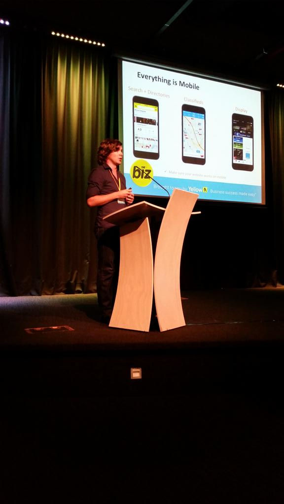 My @yellownz colleague @rish is sharing digital trends, being mobile,  being connected and smart fitness  #TheBiz http://t.co/hlkt4T9UIs