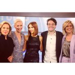 RT @SarahHarris: 'Your hair is FIERCE' - the divine @GiulianaRancic's excellent assessment of our @JessRowe. #studio10 http://t.co/h1hUW43a…