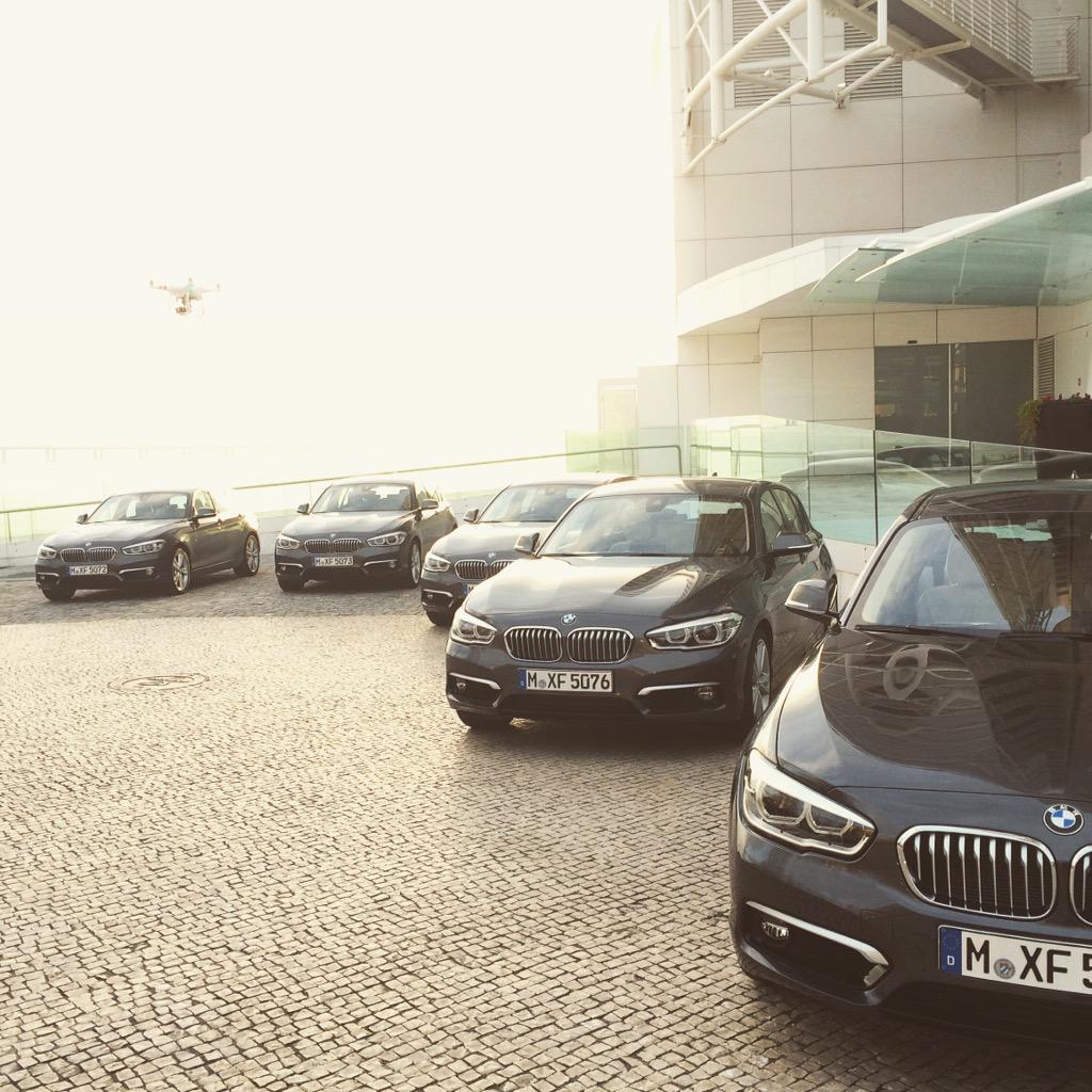 Le #BMW #Serie1 restyling per il test drive di oggi @bmw @BMWi_Italia http://t.co/SMWLNLt34a