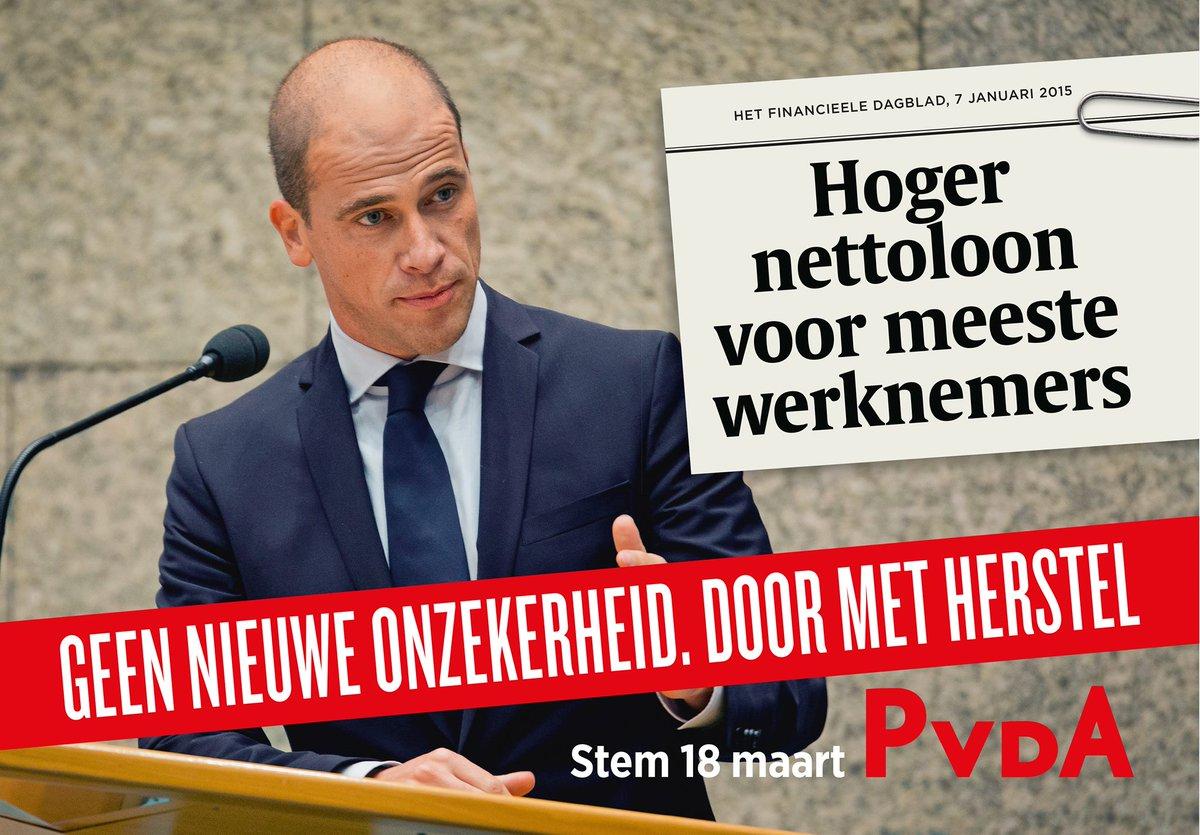 Zowaar geen slechte campagneposters van de #PvdA dit keer. #campaignwatch http://t.co/J9lNzVhx3X