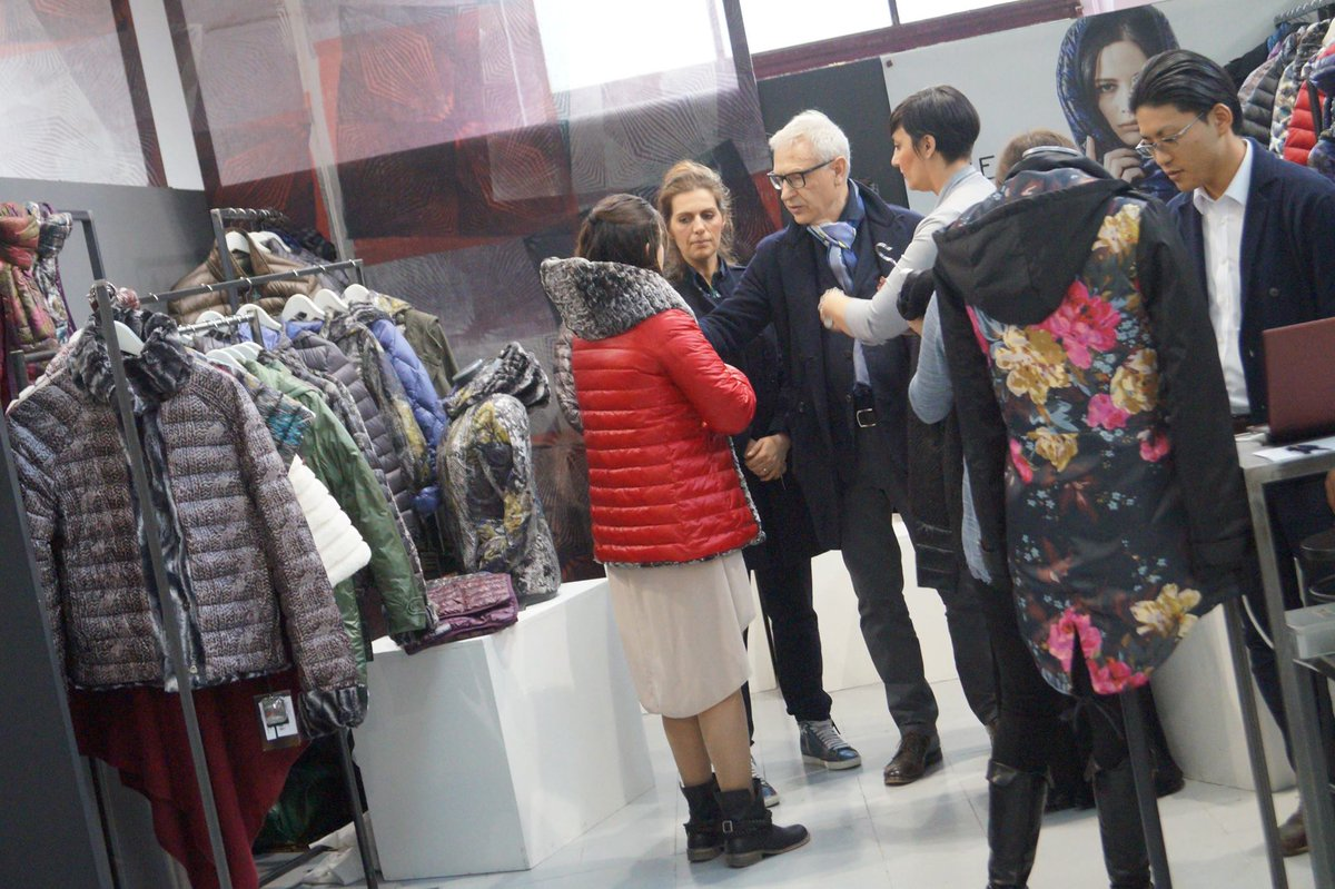 test Twitter Media - Showing the AW 2015|16 collection to Tessabit at White ... http://t.co/yodp3Mhg1V