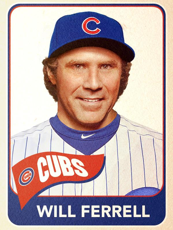 Will Ferrell's Baseball Cards