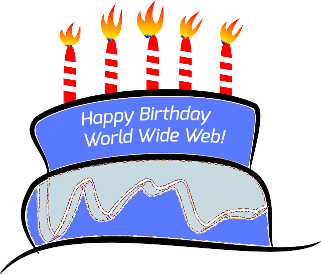 Happy 26th Birthday World Wide Web!  Thank you @timberners_lee for the Web which has changed all of our lives. http://t.co/JcpRjMkZ3K