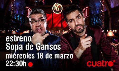 El 28 #AlPalacioconDaniFlo no te quedes sin entradas! http://t.co/3DxjN0aYvR y el día 18, estreno de @SopadeGansosTV http://t.co/GzVrXaHsSk
