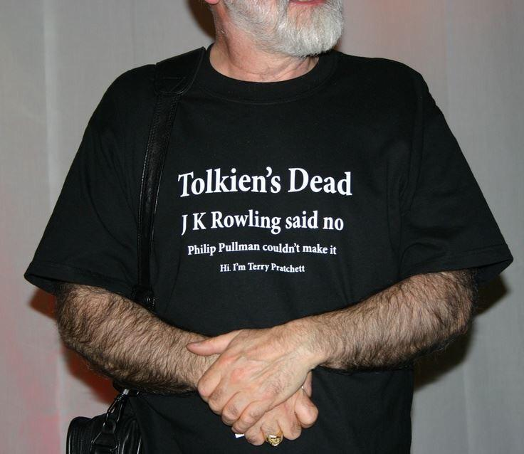 The t-shirt that Terry Pratchett wore to conventions: http://t.co/9KJvIpakBc