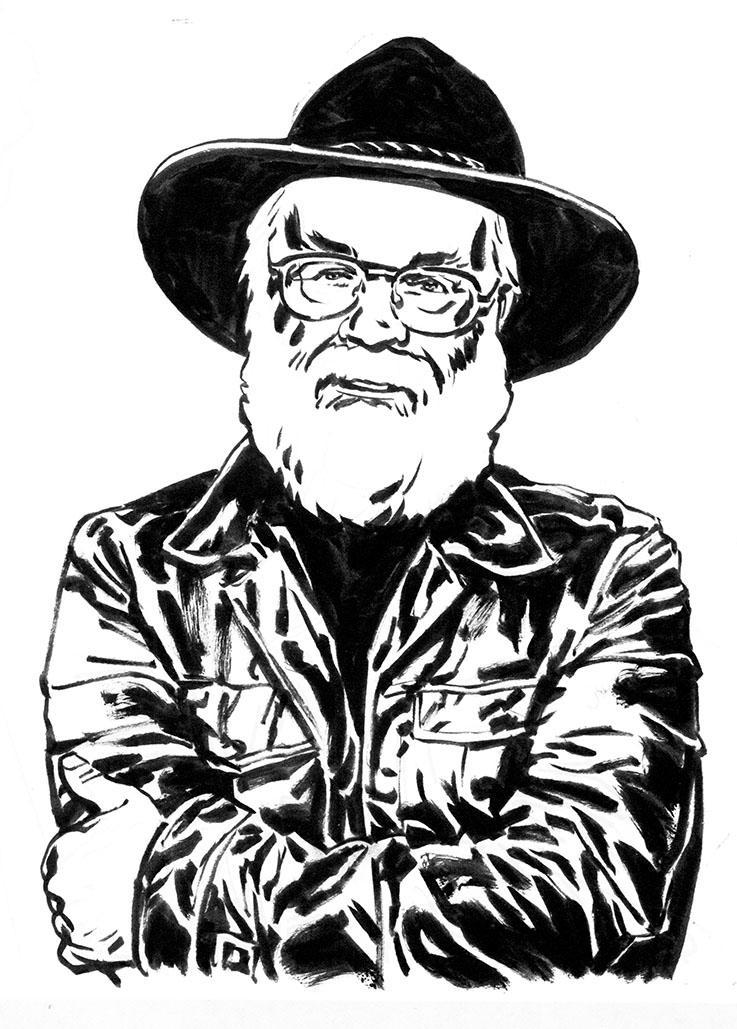 Oh bugger, RIP Terry Pratchett... http://t.co/U7bxHsa8Pt