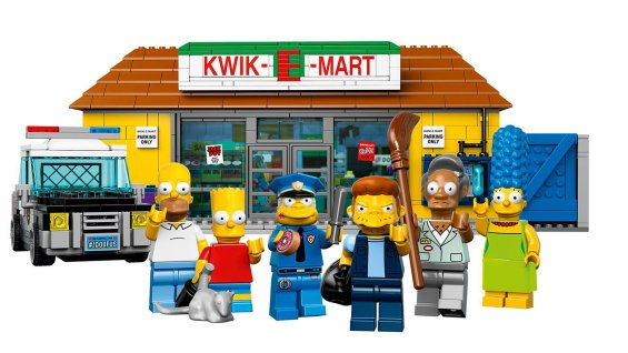 Lego Version of 'The Simpsons' Kwik-E-Mart Announced