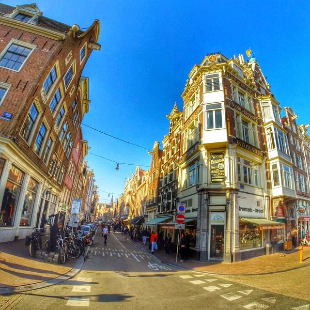 One of the best streets in Amsterdam