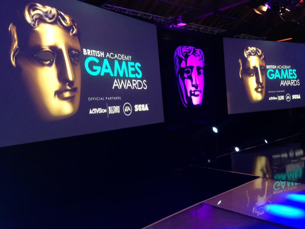 The stage is set for the @BAFTAGames Awards. Don't forget: Red Carpet live from 5:45pm at http://t.co/mEIdzMJgU5 http://t.co/DYIRjXV4Qx
