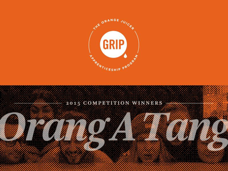 Congratulations to Humber College's Team #OrangAtang for being the winners of the #GripJuicer competition! http://t.co/n755iH9GLu