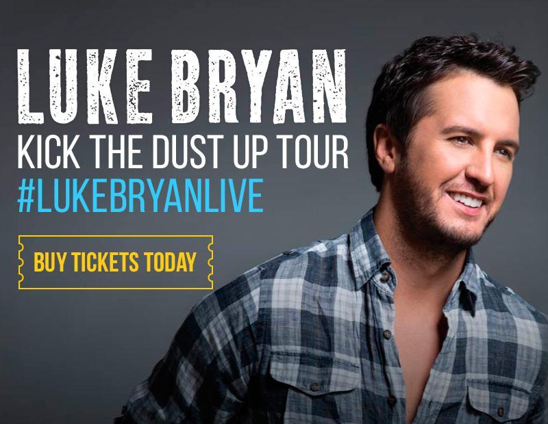 Luke Bryan: #KickTheDustUpTour Tickets! Get yours -> http://t.co/wmVPQJkvTu #LukeBryan #LukeBryanLive #countrymusic http://t.co/W9lfbHUt1h