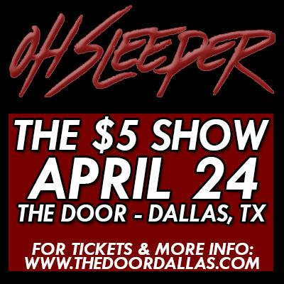 SURPRISE DALLAS!  @weareohsleeper is playing one of our $5 shows again! April 24th! TIX: http://t.co/NvqfHMLIl2 http://t.co/wAeSrNHNUM