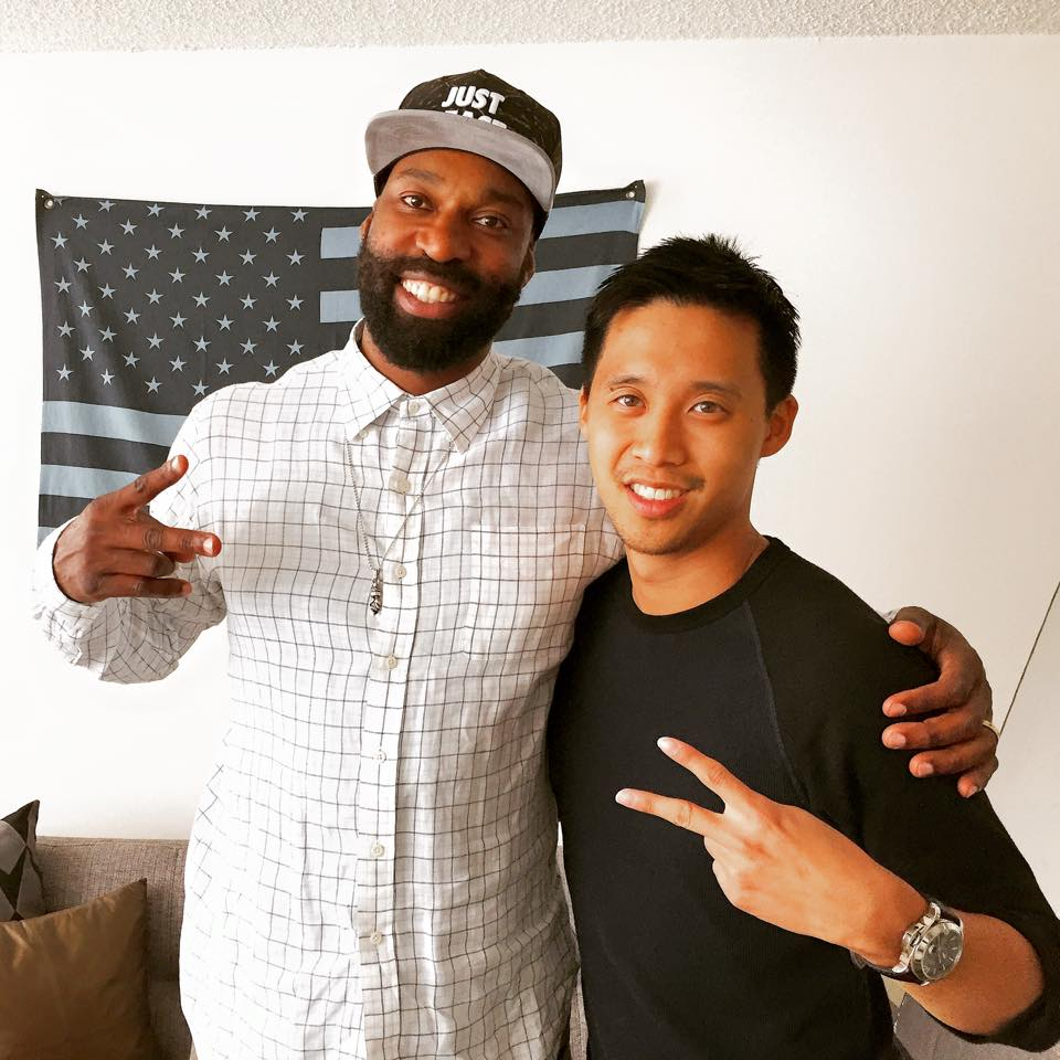 Shoutout to @Baron_Davis for doing an awesome interview with @NextShark. Congrats on all your success. http://t.co/8x930EurbT