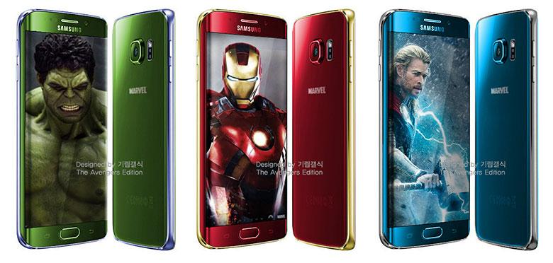 Fingers crossed that Samsung actually makes these Avengers-colored #GalaxyS6Edge designs! http://t.co/Jzg3yc4xIo http://t.co/UTHt0RTohN