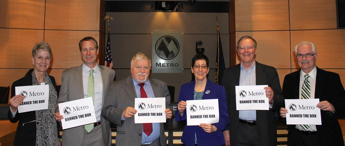 Metro has banned the box! Metro Council votes 6-0 to Ban the Box on employment applications. #BanTheBoxPDX http://t.co/8pmv4OOKMx