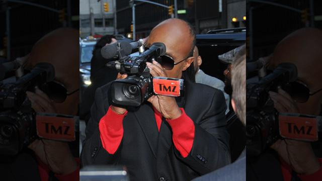WATCH: Stevie Wonder is a TMZ photog!