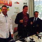 RT @ArnoldSports: .@Schwarzenegger @TonyDohertyOz and Rafael Santoja officially open @ArnoldClassicAu #ACA2015 http://t.co/siIPUKbb10