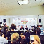 RT @ArnoldSports: Big turnout of Melbourne media to welcome @Schwarzenegger to @ArnoldClassicAu #ACA2015 http://t.co/ovHzkZ35Mx