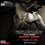 And guys do check this out .. Prashant will rock it for you all!!! @Body_Sculptor_ @prashantsixpack http://t.co/glw1hkPjMp