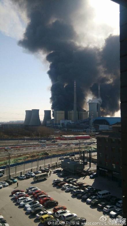 いやこれヤバいでしょ(°_°) RT @okasanman: 北京の発電所付近で謎の大爆発 キノコ雲が上がる 現地の様子 http://t.co/unNTJihMjP http://t.co/pMZONoPVCy