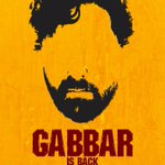 And here's the teaser poster of #GabbarIsBack... http://t.co/JJQcX4Jifg