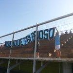 #FútbolJoven El apoyo de la gente se hace presente en Alto Hospicio. #VamosDragones Clásico del Norte. http://t.co/vTcB2acYsN