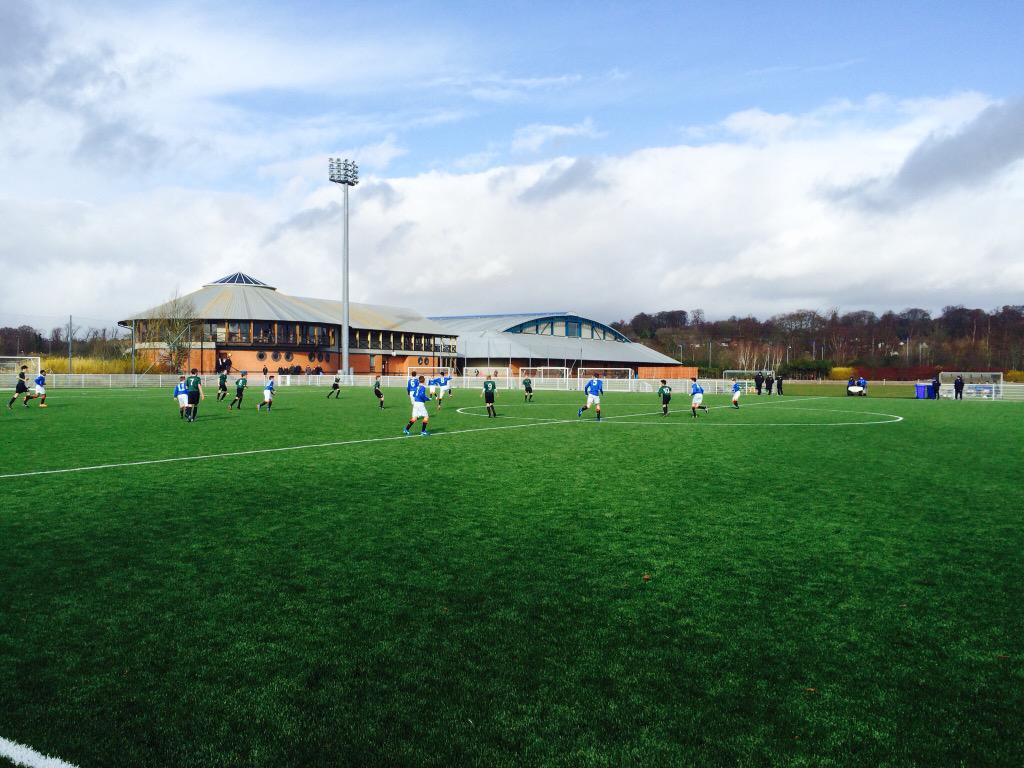Rangers and Hibs U14s #ViolaFC http://t.co/LulSCGkCuI