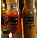 Thanks for the lovely samples @sauceshop! These lovely local sauces will be gracing our tables very soon! #Nottingham http://t.co/anistFzxcZ