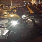 RT @RodrigoVildoso: 04:45 Triple Colisión en Av. A. Prat pasado Rotonda Chipana 3 Lesionados leves  #iquique http://t.co/Xk50FIXzPD