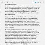Is dit het beginselprogramma van de #PvdA? Nee het is het hoofdredactioneel van de #Telegraaf. Goed verhaal! http://t.co/GKjSesNTqz