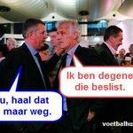 Fred Rutten vs Martin van Geel. Gaat Fredje nou wel of niet naar FC Twente? #utrfey http://t.co/iuDhJDaJ9p
