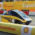 Tahap Racing berlangsung lancar. Tim Antawirya pun berhasil mencapai garis finish! Selamat! @hmm_undip http://t.co/sJ9MrxnyXB