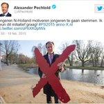 Pechtold (D66) geeft verstandig stemadvies door zichzelf door te kruisen.... http://t.co/hWN1O9NifF