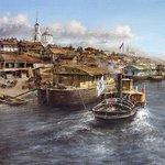 Волга, Саратов, начало 20 века http://t.co/LQP5ksVMeT