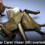 Kunstenaar Carel Visser (86) overleden: http://t.co/RgH5T26jBK http://t.co/aRdVvIAXGz