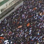"Господа ""нас миллиард"" специально для Вас даю картинку сверху от края до края. #Немцов #МаршВесна #борись http://t.co/xO4a3vCtID"