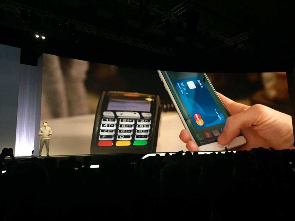 #SamsungPay #SamsungGalaxyS6 #SamsungUnpacked #MasterCard powering the future of #mobilepayments http://t.co/k9bCnCDJOW