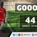  GOOL   GOOOL   GOOOOOOLLLL  Beşiktaş:2 Balıkesirspor:1 (Dk.53 Daniel Opare) http://t.co/VvAulKuz4H