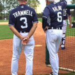 Two of the greatest @tigers to ever wear the Old English D for 40 plus years. #greatness#tradition#baseballisback http://t.co/0geyfG3ZIu