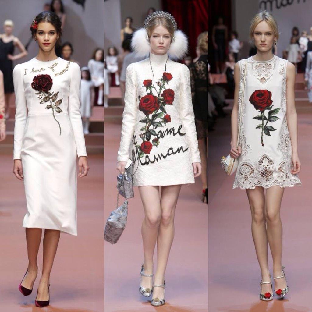 Dolce&Gabbana Women's Winter 2016 Fashion Show backstage. #dgmamma #dgfamily #dgfw16 #mfw #fw15 http://t.co/wgjEN7XA86