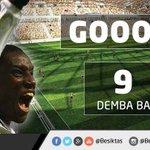  GOOL   GOOOL   GOOOOOOLLLL  Beşiktaş:1 Balıkesirspor:0 (Dk.35 Demba Ba) http://t.co/rar6oayJzE