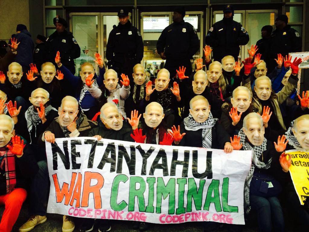 #Netanyahu War criminal not welcome in DC! #ShutDownAIPAC #AIPAC2015 http://t.co/65Tr0OydiU
