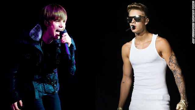 Happy 21st birthday, Justin Bieber! Take a look back at his transformation over the years.