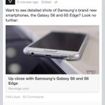 Ahah The Verge used a photo of an iPhone instead of the new Samsung Galaxy OH WAIT http://t.co/Tb6daNWTDT