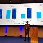 RT @nokianetworks: . @nokia CEO and President starts with a business update. #MWC15 http://t.co/C7efLMlCmX